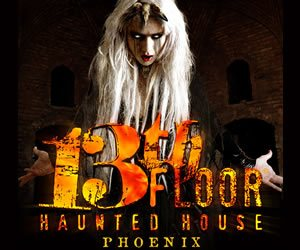 Flagstaff haunted houses your guide to halloween in for 13th floor scottsdale az
